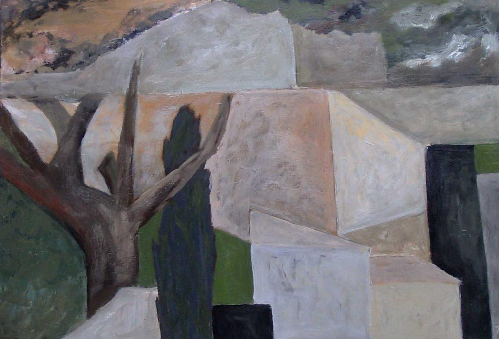 Abstrakte Landschaft II-