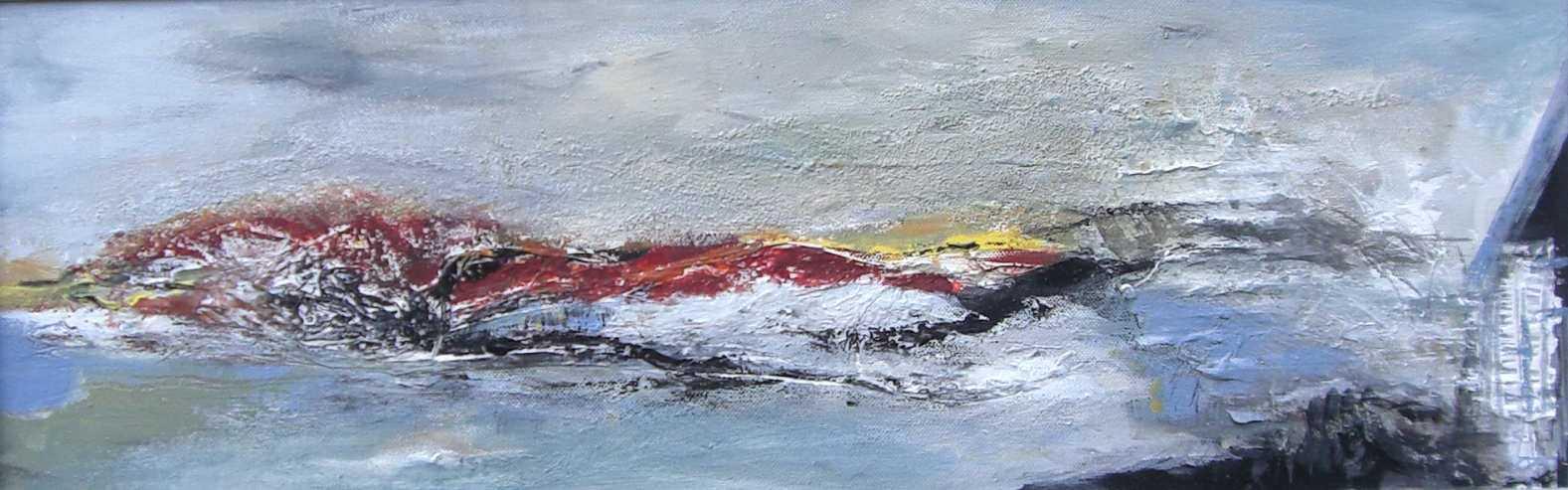 Abstrakte Landschaft IV-