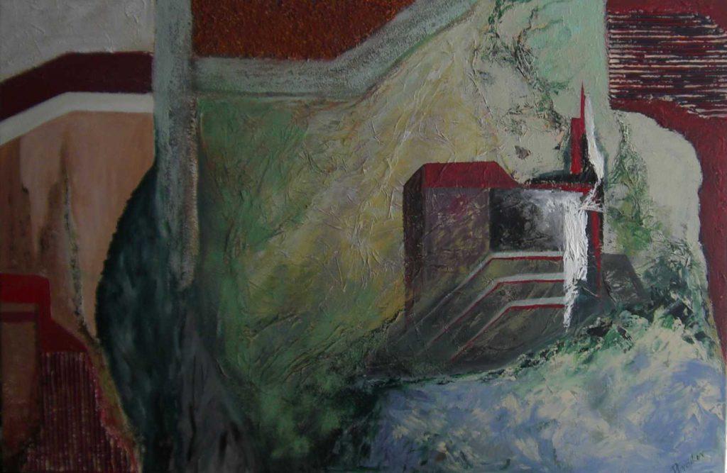 Burg auf dem Huegel-