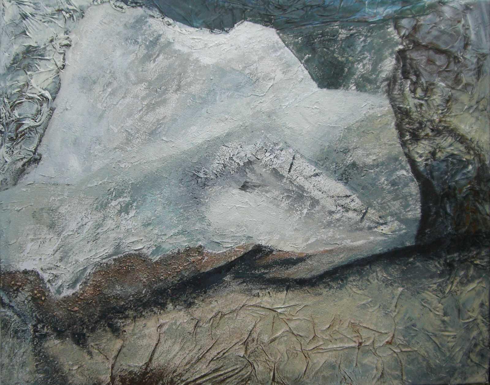 Gletscherspalte-