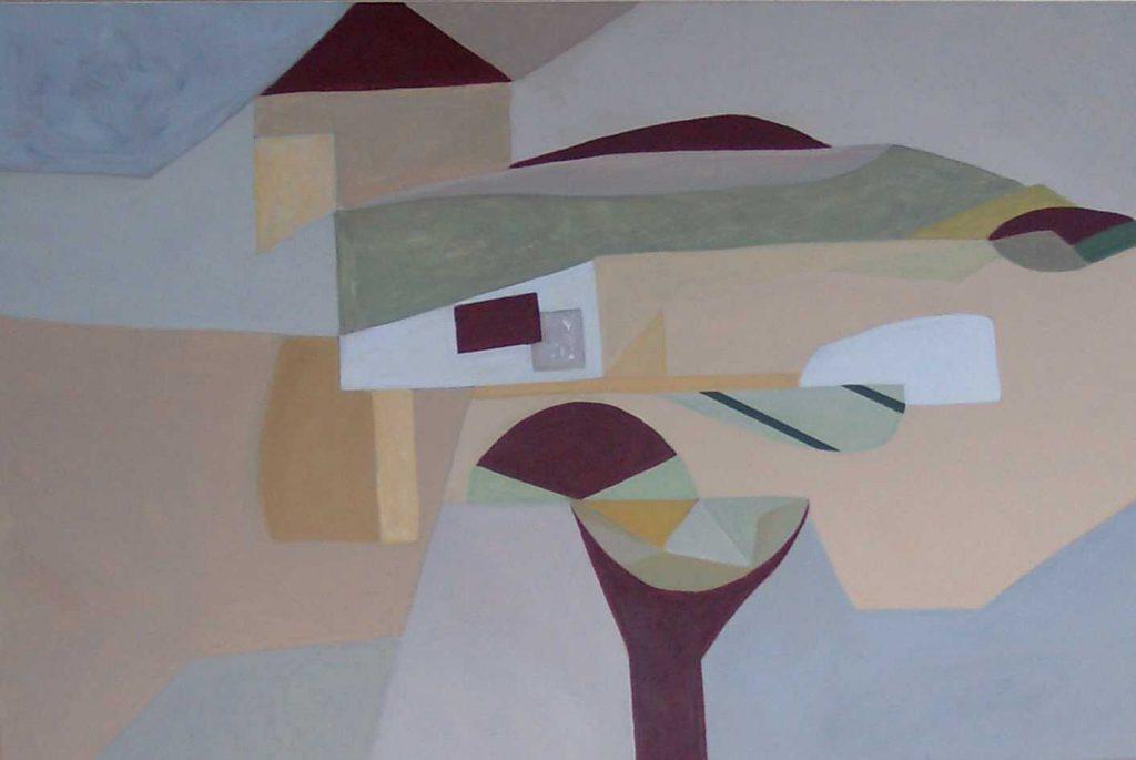 Landschaft abstrakt-