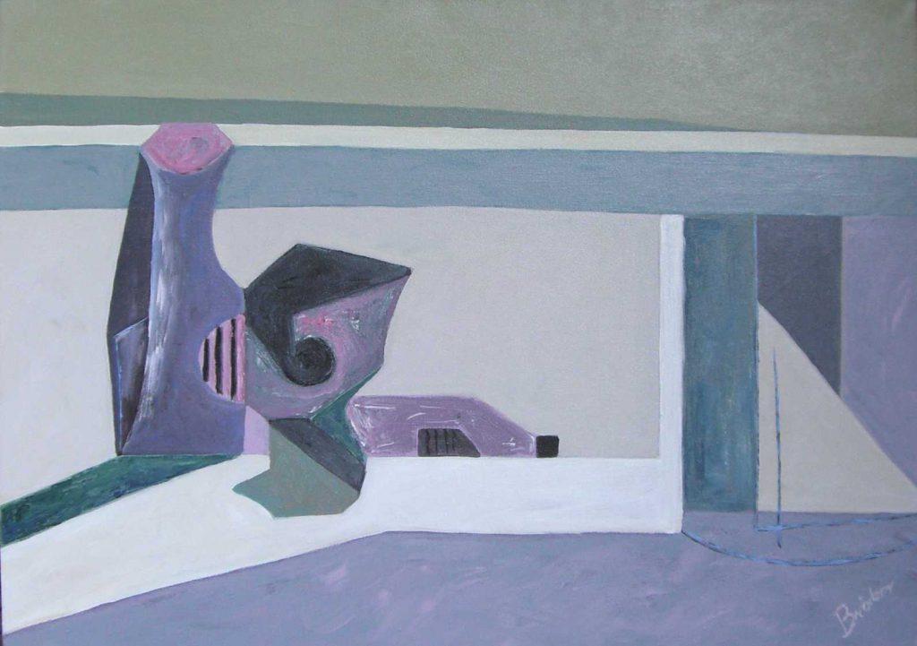Stilleben abstrakt-