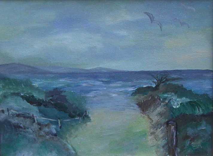 Stimmung zum Meer-